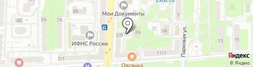 Юлмарт Аутпост на карте Балашихи
