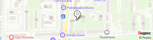 Зоомагазин на карте Балашихи