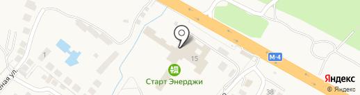 Кировец на карте Геленджика