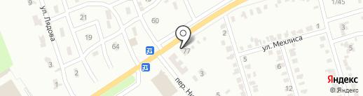 Красная Горка на карте Макеевки