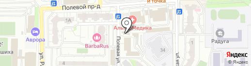 АльфаПраво на карте Балашихи