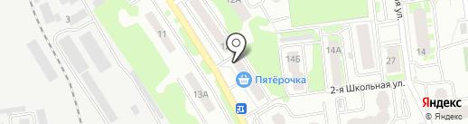 Пушкинский районный отдел судебных приставов на карте Ивантеевки