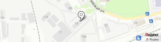 Техсервис-Москва на карте Ивантеевки
