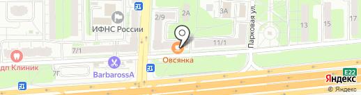 Платежный терминал на карте Балашихи