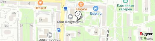 Почтовое отделение №143904 на карте Балашихи