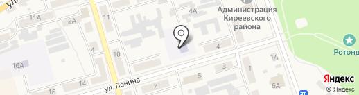 Киреевская детская школа искусств на карте Киреевска