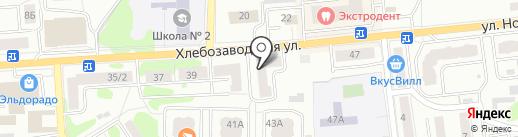 Фантазия на карте Ивантеевки