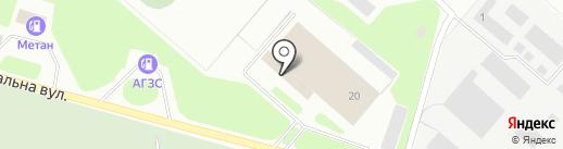 Компания по оценке транспорта на карте Макеевки