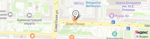 Банк ВТБ, ПАО на карте Балашихи