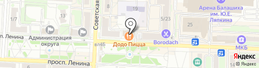 Магазин мультимедийной продукции на проспекте Ленина на карте Балашихи
