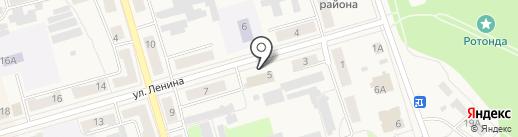Киреевск на карте Киреевска