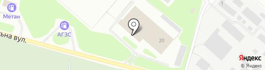 Компания по оценке транспорта, СПД Меладзе В.И. на карте Макеевки