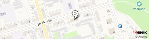 Киреевский главпочтамт на карте Киреевска