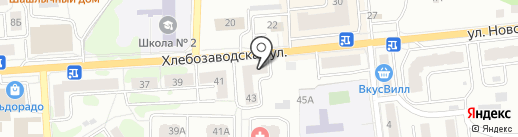 Банкомат, Банк Возрождение, ПАО на карте Ивантеевки