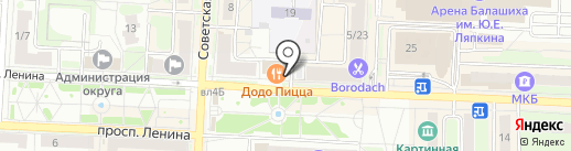 Food Market на карте Балашихи