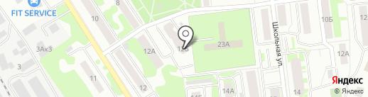 Прима, ТСЖ на карте Ивантеевки