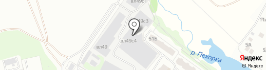 ХОТТЕКС-ДЕЛЮКС на карте Балашихи