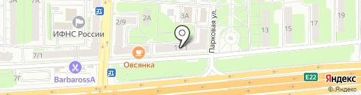 Триколор Балашиха на карте Балашихи