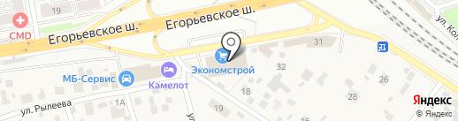 New Decor на карте Томилино