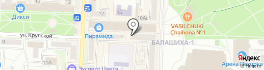 Всё для рукоделия на карте Балашихи
