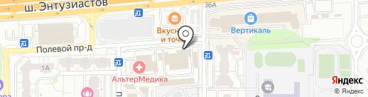 Статус на карте Балашихи