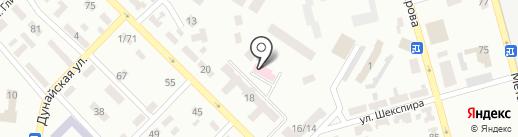 Стоматологическая поликлиника №4 на карте Макеевки