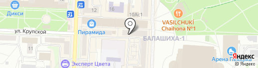 Faberlic на карте Балашихи