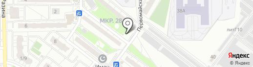 Овощной магазин на карте Балашихи