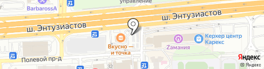 Sadovod-balashiha.ru на карте Балашихи