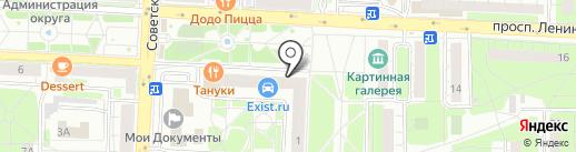 АРТ на карте Балашихи