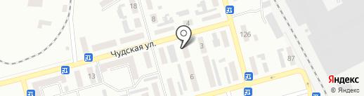 Анэкси на карте Макеевки