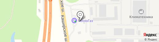Магазин автозапчастей на карте Михнево