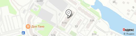 Алексеевская роща-2 на карте Балашихи