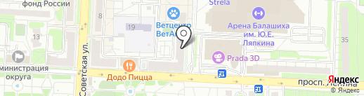 ТоПСервис на карте Балашихи