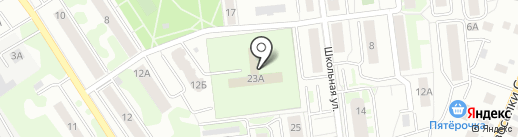 Ивантеевский детский психоневрологический санаторий на карте Ивантеевки