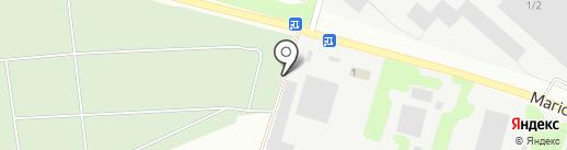 Газосервис на карте Макеевки
