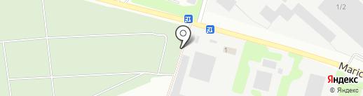 Газосервис, служба установки и ремонта газобаллонного оборудования на карте Макеевки