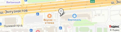 Ticketland на карте Балашихи
