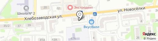 Московский областной центр недвижимости на карте Ивантеевки