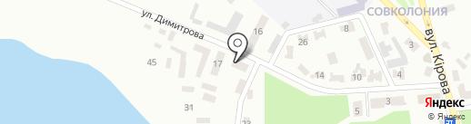 Логос-плюс на карте Макеевки