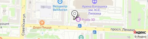 МакКафе на карте Балашихи