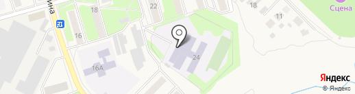 Киреевская средняя общеобразовательная школа №7 на карте Киреевска