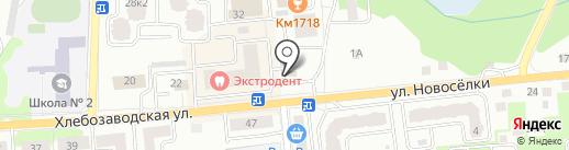Киоск фастфудной продукции на карте Ивантеевки