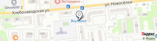 Центр мебели на карте Ивантеевки