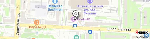 Пропаганда на карте Балашихи