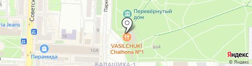 Чайхона Бай на карте Балашихи