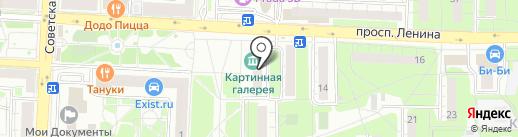 ЖИРАФ на карте Балашихи