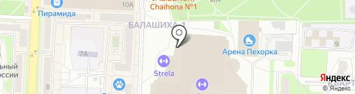 FIT-N-GO на карте Балашихи