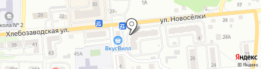 С грядки на карте Ивантеевки