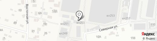 ПАРИТЕКС на карте Балашихи